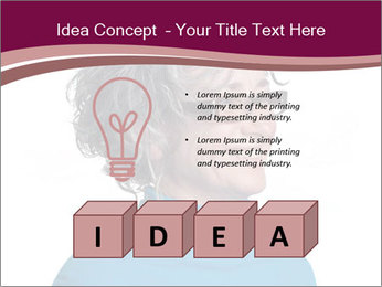 Woman smiling PowerPoint Templates - Slide 80