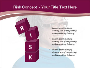 Woman smiling PowerPoint Templates - Slide 81