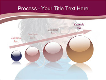 Woman smiling PowerPoint Templates - Slide 87