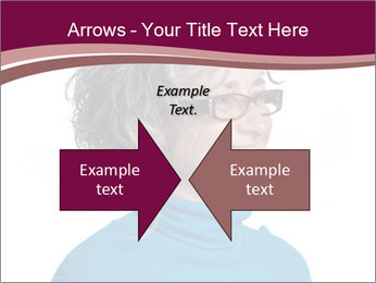 Woman smiling PowerPoint Templates - Slide 90
