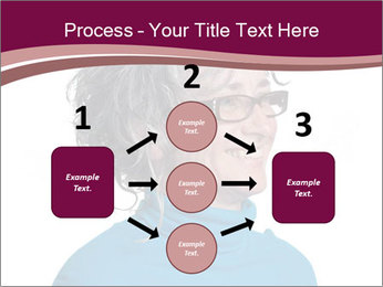 Woman smiling PowerPoint Templates - Slide 92