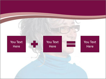 Woman smiling PowerPoint Template - Slide 95