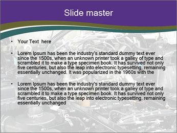 Engine PowerPoint Template - Slide 2