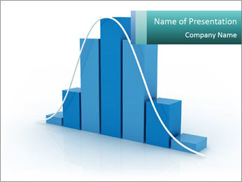 Histogram PowerPoint Template - Slide 1