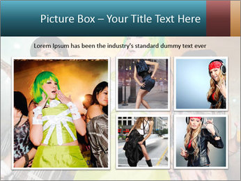 Dancing street party PowerPoint Template - Slide 19