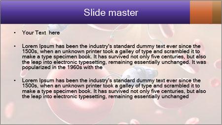 Bloodstream Digital illustration PowerPoint Template - Slide 2