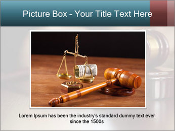 Legal Punishment PowerPoint Template - Slide 15