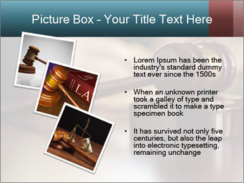 Legal Punishment PowerPoint Template - Slide 17