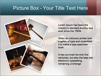 Legal Punishment PowerPoint Template - Slide 23