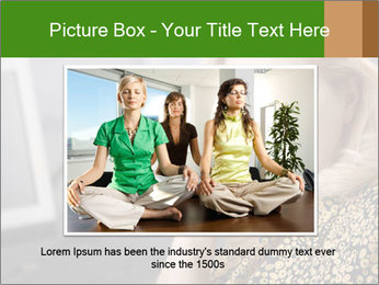 Senior Woman With Mobile Phone PowerPoint Template - Slide 16