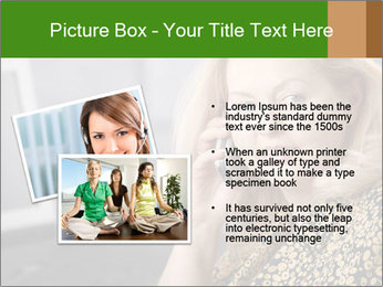 Senior Woman With Mobile Phone PowerPoint Template - Slide 20