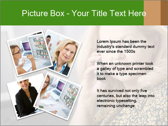 Senior Woman With Mobile Phone PowerPoint Template - Slide 23