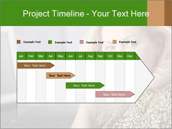 Senior Woman With Mobile Phone PowerPoint Template - Slide 25
