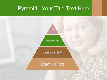 Senior Woman With Mobile Phone PowerPoint Template - Slide 30