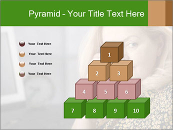 Senior Woman With Mobile Phone PowerPoint Template - Slide 31