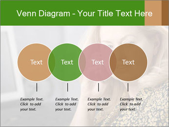 Senior Woman With Mobile Phone PowerPoint Template - Slide 32