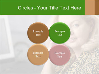 Senior Woman With Mobile Phone PowerPoint Template - Slide 38