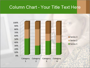 Senior Woman With Mobile Phone PowerPoint Template - Slide 50