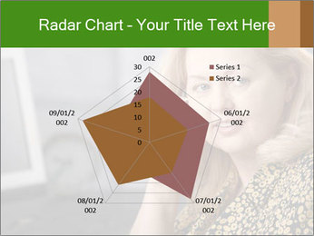 Senior Woman With Mobile Phone PowerPoint Template - Slide 51