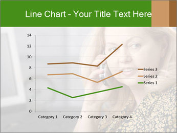 Senior Woman With Mobile Phone PowerPoint Template - Slide 54