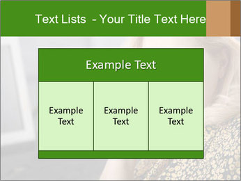 Senior Woman With Mobile Phone PowerPoint Template - Slide 59