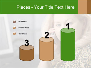 Senior Woman With Mobile Phone PowerPoint Template - Slide 65