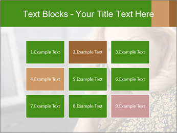 Senior Woman With Mobile Phone PowerPoint Template - Slide 68
