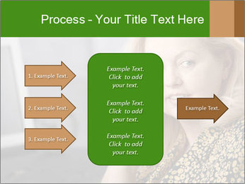 Senior Woman With Mobile Phone PowerPoint Template - Slide 85
