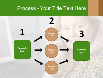 Senior Woman With Mobile Phone PowerPoint Template - Slide 92