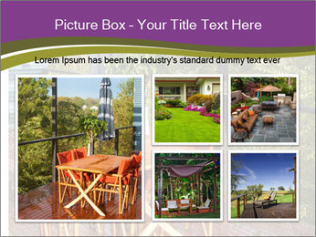 Table On Terrace PowerPoint Templates - Slide 19