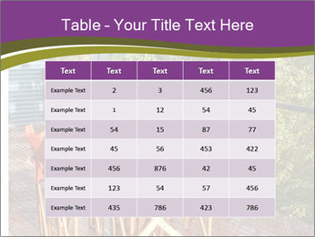 Table On Terrace PowerPoint Templates - Slide 55