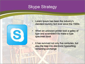 Table On Terrace PowerPoint Templates - Slide 8