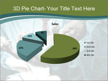 A doctor holding a baby PowerPoint Template - Slide 35