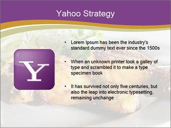 Grilled Chicken Legs PowerPoint Template - Slide 11