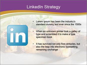 Grilled Chicken Legs PowerPoint Template - Slide 12