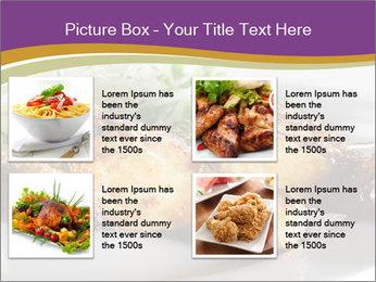 Grilled Chicken Legs PowerPoint Template - Slide 14