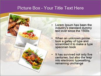 Grilled Chicken Legs PowerPoint Template - Slide 17