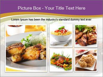 Grilled Chicken Legs PowerPoint Template - Slide 19