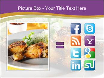 Grilled Chicken Legs PowerPoint Template - Slide 21