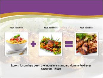 Grilled Chicken Legs PowerPoint Template - Slide 22