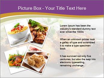 Grilled Chicken Legs PowerPoint Template - Slide 23