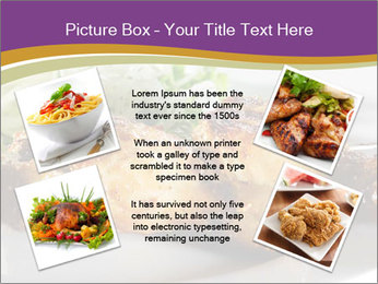 Grilled Chicken Legs PowerPoint Template - Slide 24