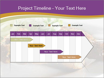 Grilled Chicken Legs PowerPoint Template - Slide 25