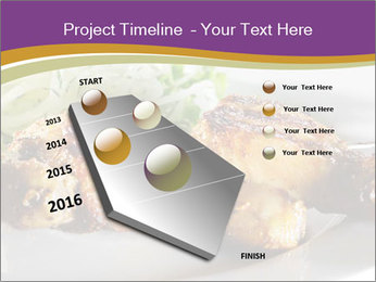 Grilled Chicken Legs PowerPoint Template - Slide 26