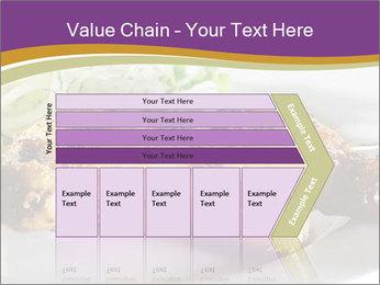 Grilled Chicken Legs PowerPoint Template - Slide 27