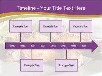 Grilled Chicken Legs PowerPoint Template - Slide 28