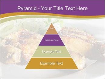 Grilled Chicken Legs PowerPoint Template - Slide 30
