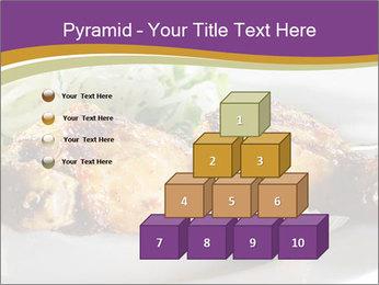 Grilled Chicken Legs PowerPoint Template - Slide 31