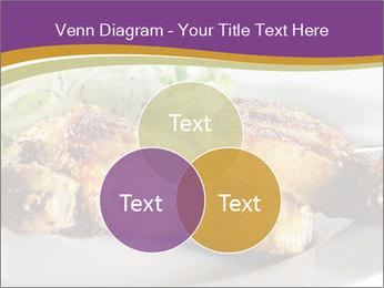 Grilled Chicken Legs PowerPoint Template - Slide 33