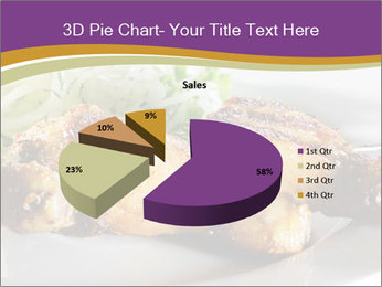 Grilled Chicken Legs PowerPoint Template - Slide 35